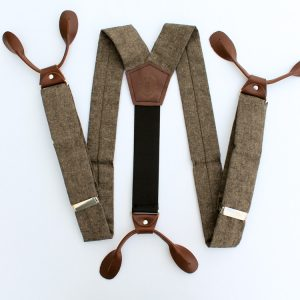 Button-On Suspenders