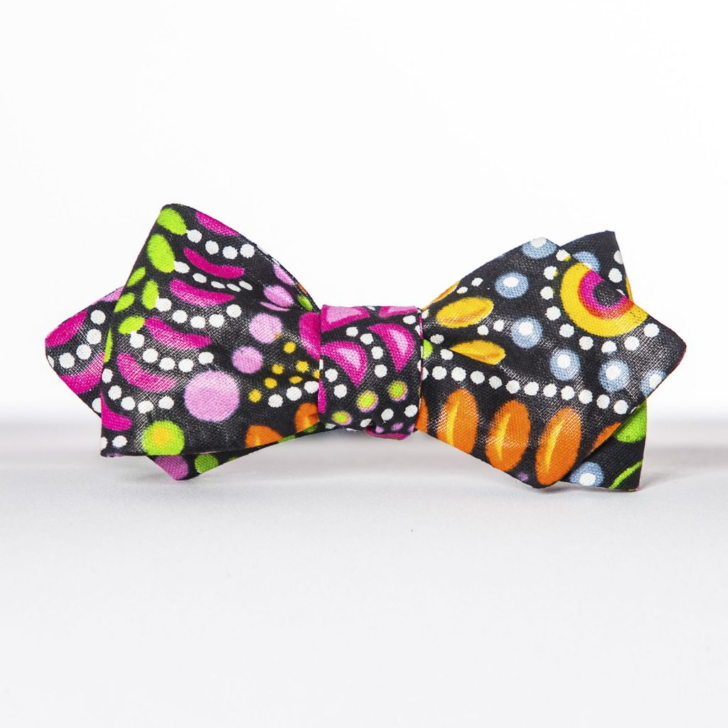 Mandala Arrow Bow Tie