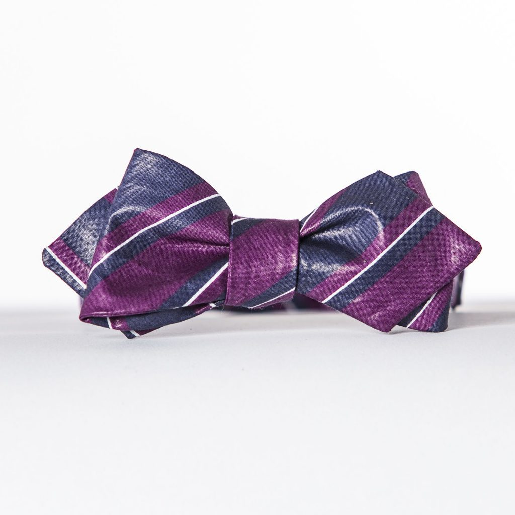 Big Stripe Arrow Bow Tie