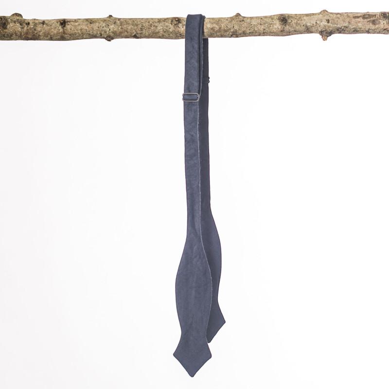 Navy Arrow Bow Tie
