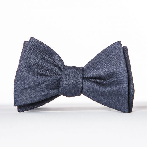 Navy Butterfly Bow Tie