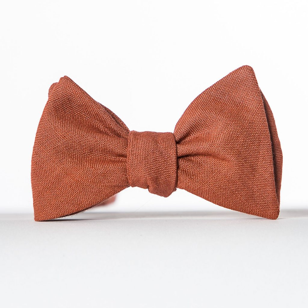 Clay Butterfly Bow Tie