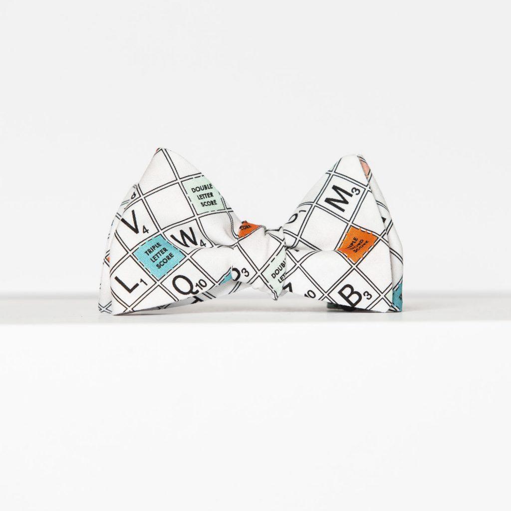 Scrabble Butterfly Pre-Tied Bow Tie
