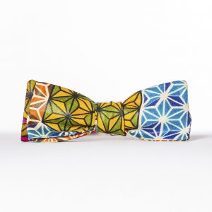 Makeba Paddle Bow Tie - Vintage-Inspired Batwing Bow Tie