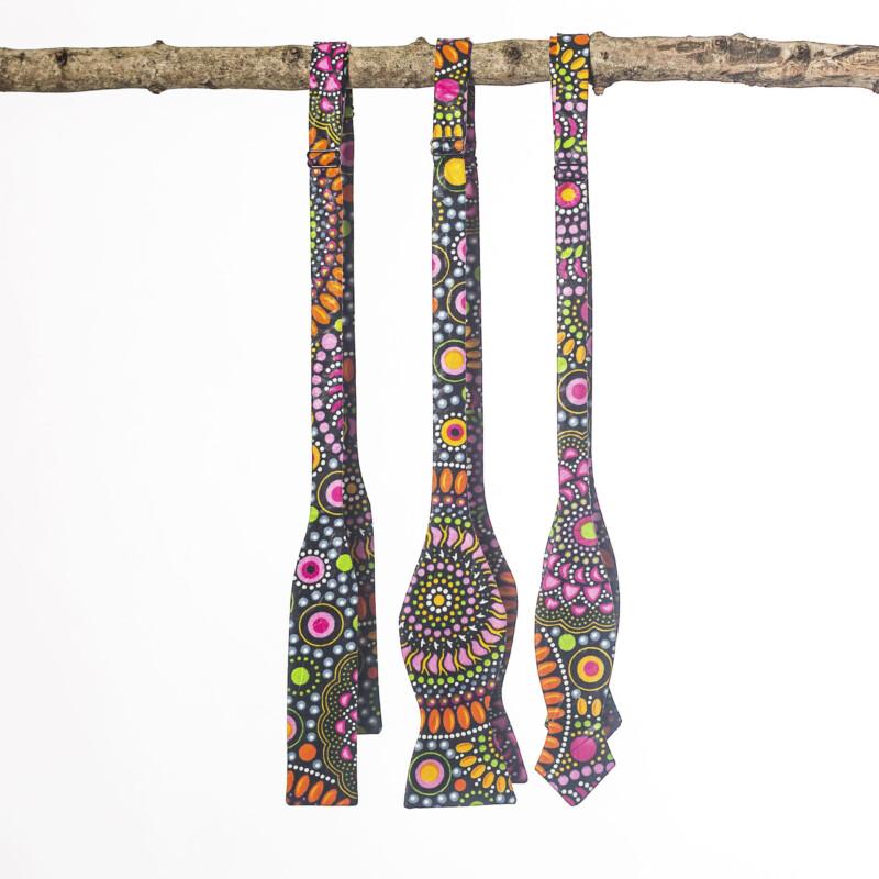 Mandala Paddle Bow Tie