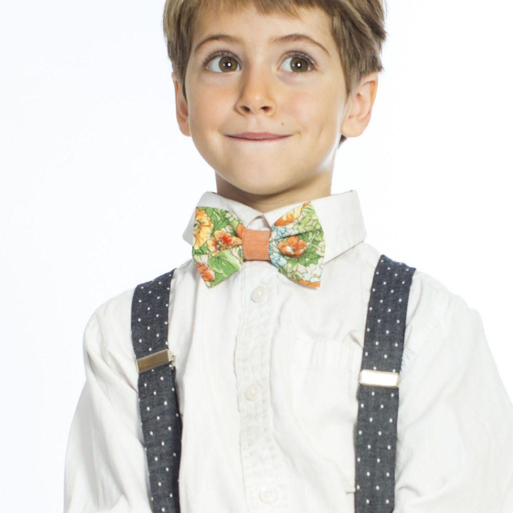 Farmette Floral Kids' Bow Tie