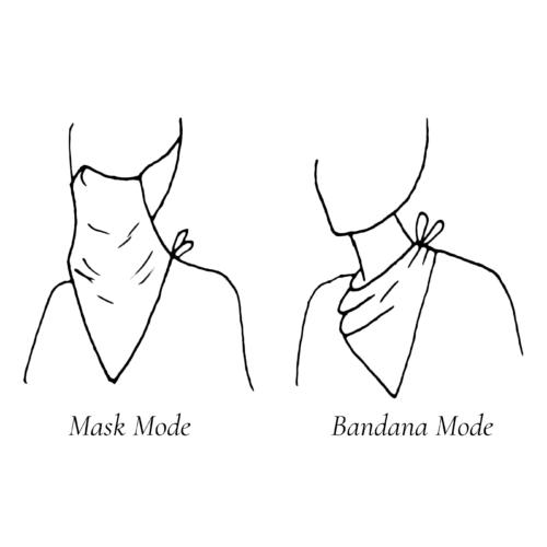 Linen Bandana Mask