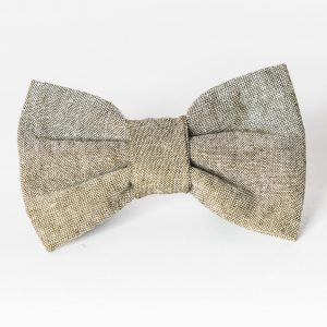 Big Dog Bow - Olive Linen