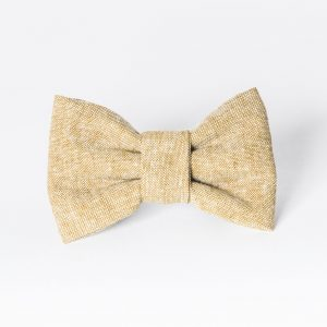 Tan Medium Dog Bow