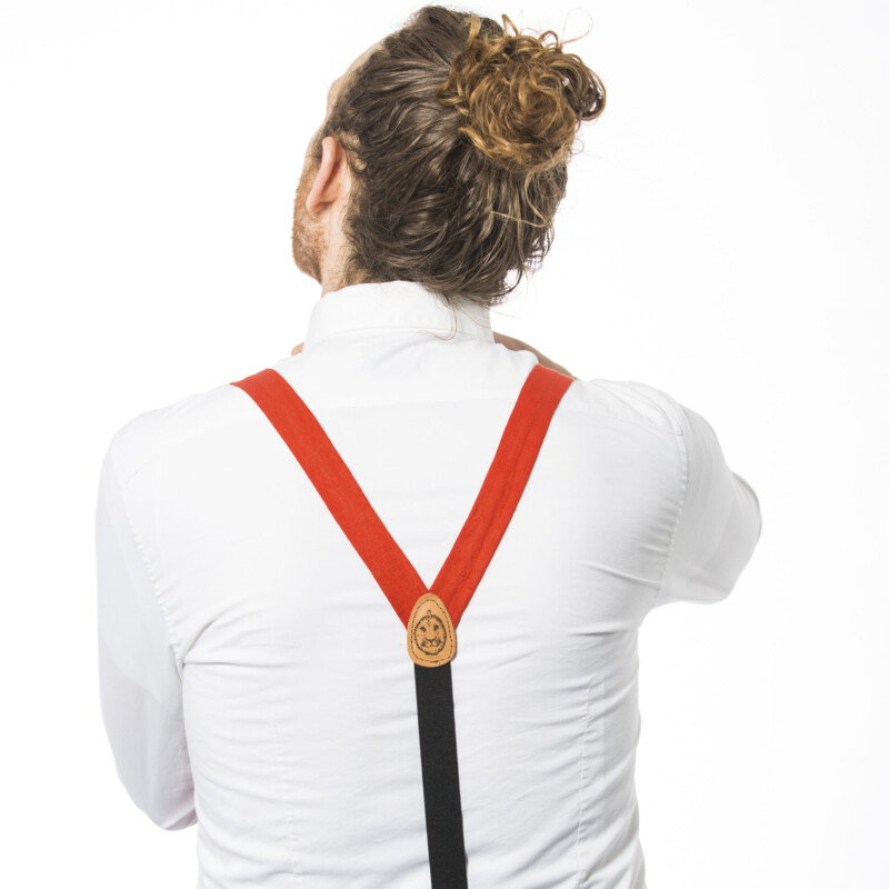 Poppy 1″ Clip-On Suspenders