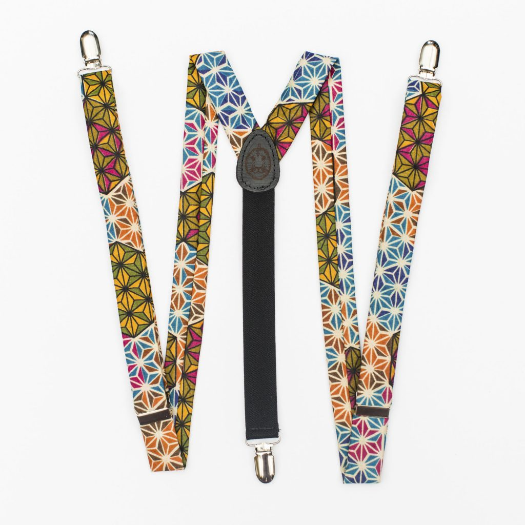 "Makeba 1"" Clip-On Suspenders"
