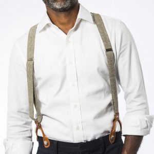 Sage Mens' Suspenders
