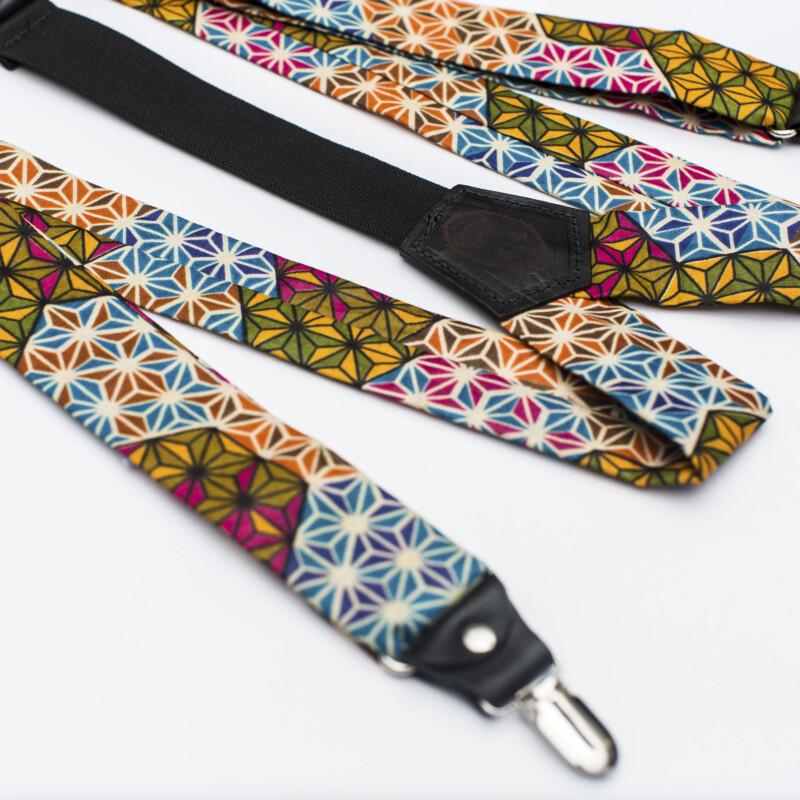 Makeba 1.5″ Clip-On Suspenders