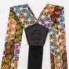 Makeba Wide Strapped Button Suspenders