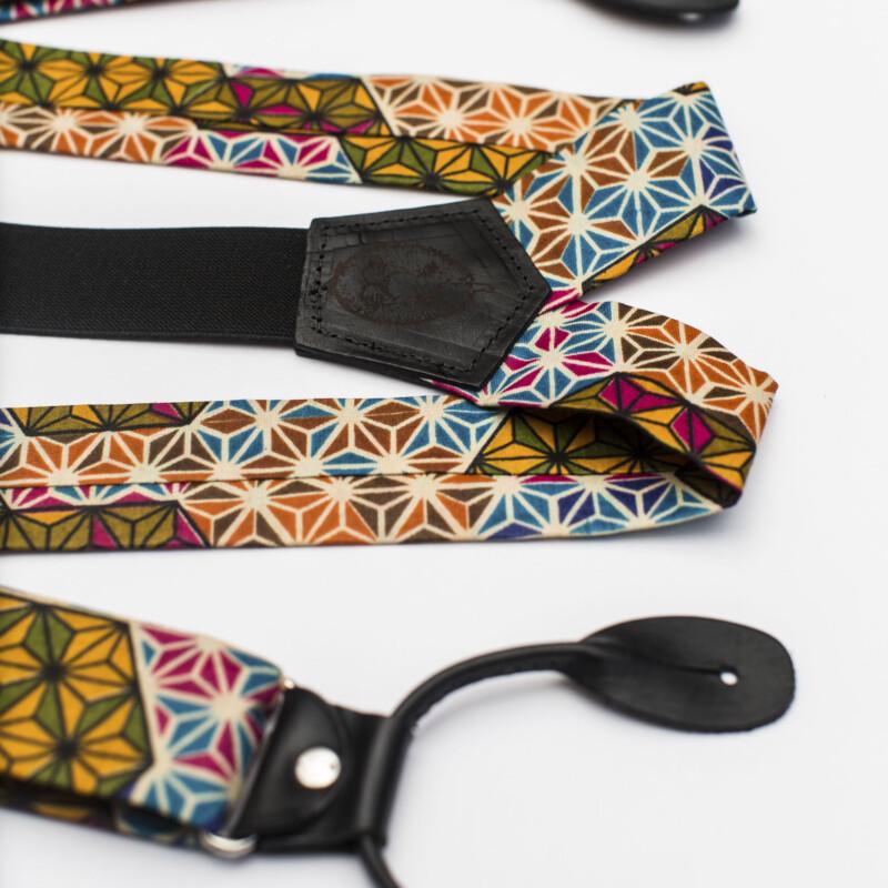 Makeba 1.5″ Button-On Suspenders