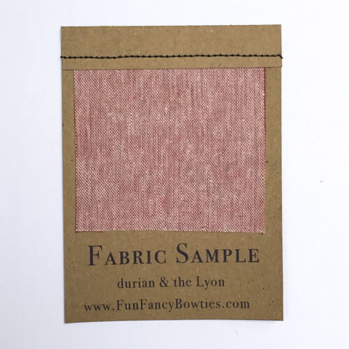 Pink Linen Swatch